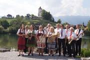Die 2-Länder-Musikanten jubilieren und konzertieren zum 25-jährigen Bestehen der bekannten Formation. (Bild:PD)