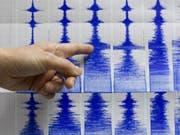 Das Beben dauerte rund 30 Sekunden. (Bild: KEYSTONE/AP/STR)