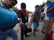 In Mexiko-Stadt ist in den kommenden Tagen Wassersparen angesagt. (Bild: KEYSTONE/AP/REBECCA BLACKWELL)