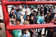 Migranten der Karawane erreichen ein Camp in Juchitan de Zaragoza in Mexiko. (Bild: Spencer Platt/Getty, 30. Oktober 2018)