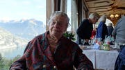Kreszentia Ziegler besucht Seelisberg mit 106 Jahren. (Bild: Christoph Näpflin, Seelisberg, 30. Oktober 2018)