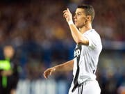 Cristiano Ronaldo ist nun die Nummer 1 auf Instagram (Bild: KEYSTONE/EPA ANSA/GIANNI NUCCI)