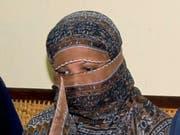 Todesurteil wegen Gotteslästerung aufgehoben: die pakistanische Christin Asia Bibi wurde freigesprochen. (Bild: KEYSTONE/AP)