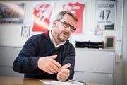 FC-Wil-Präsident Maurice Weber hofft das Projekt bald realisieren zu können. (Bild: Ralph Ribi)