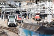 Für den Knoten St.Gallen braucht es Anpassungen für eine bessere Koordination zwischen Fern- und Regionalverkehr. (Bild: Ralph Ribi)