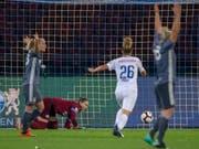 Der FC Zürich um Goalie Elvira Herzog verlor auch das Rückspiel in München (Bild: KEYSTONE/PATRICK B. KRAEMER)
