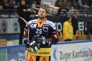 Wechselt nächste Woche in die russische KHL: EVZ Stürmer Viktor Stalberg. (Bild: Daniela Frutiger/Freshfocus (Zug, 30. Oktober 2018)