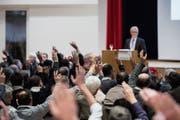 An der Bürgerversammlung vom 26.November befinden die Wittenbacher über das Budget 2019. (Bild: Archivbild: Luca Linder)