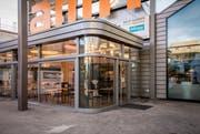 Die RössliBeck-Filiale im Einkaufszentrum Amriville in Amriswil ist zum Eingang gezogen. (Bild: Reto Martin)