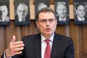 SNB-Präsident Thomas Jordan. (Bild: Gaetan Bally/Keystone (Zürich, 4. April 2018))