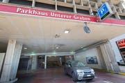 Mit dem Parkhaus UG 25 sollen dereinst die öffentlichen oberirdischen Parkplätze im Einzugsgebiet kompensiert werden. (Bild: Ralph Ribi)