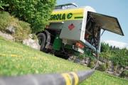 Rund die Hälfte der Schweizer Haushalte und Arbeitsplätze werden mit Heizöl, etwa von Agrola, beheizt. (Symbolbild: Urs Jaudas/Tagblatt)