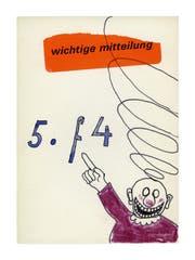 Hans Schärer meldet seinen fünften Zug.