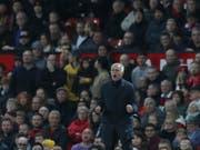 José Mourinho zeigt sich gegen Newcastle gewohnt engagiert (Bild: Keystone/AP/JON SUPER)