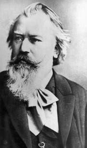 Komponist Johannes Brahms: 1853 kam es zur verhängnissvollen Begegnung mit Clara Schumann. (Bild: Keystone)