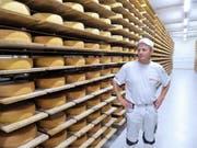 Der in den Jahren 2012 und 2017 ausgebaute Käsekeller von Christian Tschumper bietet heute Platz für 24000 Käselaibe. (Bild: Andrea Häusler)