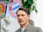 Konnte seinen Wiesn-Besuch nicht geniessen: Bayern-Coach Niko Kovac (Bild: KEYSTONE/AP dpa/MATTHIAS BALK)