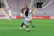 Wils Silvano Schäppi (vorne) gegen Sébastien Wüthrich. (Bild: Gianluca Lombardi)