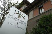 Die Frauenfelder Schulverwaltung im Haus Froschheim. (Bild: Nana do Carmo)