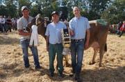 Den Schöneuterpreis bei den älteren Kühe holte sich Nadin der Betriebsgemeinschaft Dudli.