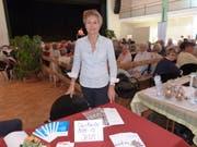 Gemeinderätin Sabina Peter Köstli als Tischmesse-Organisatorin. (Bild: Kurt Lichtensteiger)