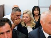 Soll in Luxusrestaurants Essen auf Staatskosten bestellt haben: Israels First Sara Netanyahu am Sonntag im Gerichtssaal in Jerusalem. (Bild: KEYSTONE/AP Yedioth Ahronoth POOL/AMIT SHABI)