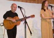 Kieran Goss und Annie Kinsella sind in der Alten Mühle Gams gut, sogar sehr gut, angekommen. (Bild: Heidy Beyeler)