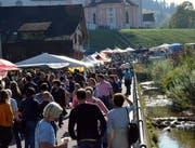 Der Fischinger Jahrmarkt war gewohnt gut besucht.