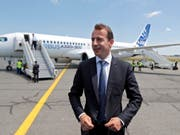 Guillaume Faury soll Chef bei Airbus werden. (Bild: KEYSTONE/EPA/GUILLAUME HORCAJUELO)