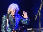 Der irische Rockmusiker Bob Geldof verlangt eine zweite Brexit-Abstimmung. Der Brexit sei für Musikindustrie fatal, sagt er. (Bild: Keystone/URS FLUEELER)