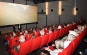 Der Weinfelder Kinosaal war bei der Thurgauer Premiere von «Durs Appenzellerland» voll besetzt. (Bild: PD)