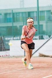 Kristina Milenkovic schaffte den Sprung ins WTA-Ranking. (Bild: Manuela Jans (Sursee, 4. August 2018)