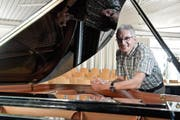 Er ist im Thurgau fast so etwas wie der «Mister Musikschulen»: Der scheidende Verbandspräsident Andreas Schweizer. (Bild: Donato Caspari)