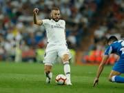Karim Benzema steht Real vorderhand nicht zur Verfügung (Bild: KEYSTONE/AP/PAUL WHITE)