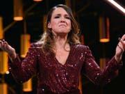 Die Komikerin Carolin Kebekus hat 2018 zum sechstem Mal den deutschen Comedypreises gewonnen. (Bild: Keystone/DPA/HENNING KAISER)
