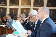 Blick in den Obwaldner Kantonsrat: Seit den Wahlen im März 2018 sitzt hier pro drei Männer eine Frau im Parlament. (Bild Markus von Rotz )