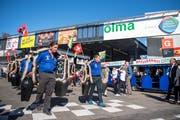 Die Olma zieht jedes Jahr Hunderttausende Besucher an. (Bild: Urs Bucher)