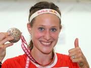 Judith Wyder zeigte sich 2018 mit je drei WM- und EM-Medaillen sehr erfolgreich (Bild: KEYSTONE/SWISS ORIENTEERING/REMY STEINEGGER)