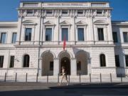 Das Bundesstrafgericht hat im 'Ndrangheta-Prozess per Video-Konferenz einen Zeugen befragt. (Bild: KEYSTONE/TI-PRESS/ALESSANDRO CRINARI)