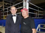 Thomas (links) und Walter Walser durften sich über eine gut besuchte und bestens organisierte 16. Rheintaler Boxnacht freuen.