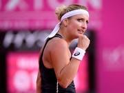 Timea Bacsinszky schaffte endlich ihren ersten Saisonsieg auf der WTA-Tour (Bild: KEYSTONE/ANTHONY ANEX)