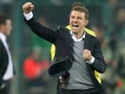 Markus Weinzierl soll in Stuttgart neues Feuer in die Mannschaft bringen (Bild: KEYSTONE/EPA/FRIEDEMANN VOGEL)