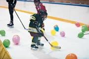 Eishockey wird in St.Gallen besonders im Nachwuchsbereich immer beliebter. (Bild: Thi My Lien Nguyen)
