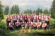 Gruppenbild des Jodelklubs Säntisgruess, den es seit 60 Jahren gibt. (Bilder: PD)