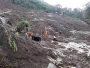 Wirbelsturm Yutu löste auf den Philippinen mehrere Erdrutsche aus. (Bild: KEYSTONE/EPA DPWH/DEPARTMENT OF PUBLIC WORKS AND HIGHWAYS HANDOU)