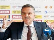 René Fasel will die Führung im Eishockey-Weltverband 2020 abgeben. (Bild: KEYSTONE/SALVATORE DI NOLFI)