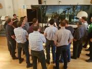 Die Arbeit im Tonstudio war eine interessante Erfahrung für den Jodelklub Säntisgruess.