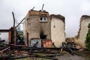 Die Zerstörung ist gross. (Bild: Regiowehr Aesch)