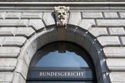 Am 25. November 2018 wird über die Selbstbestimmungs-Initiative befunden. Im Bild das Bundesgerichtsgebäude in Luzern. (Bild: Gaetan Bally/Keystone (24. März 2015))