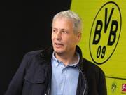 Dortmunds Trainer Lucien Favre kann dem Bundesliga-Gipfeltreffen mit Bayern München gelassener entgegenblicken als der Gegner (Bild: KEYSTONE/DPA/BERND THISSEN)